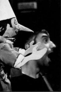 Pinocchio Bianco Nero