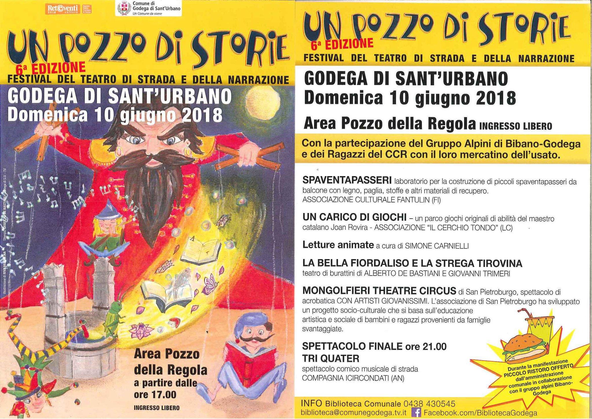 Comune Di Godega Di Sant Urbano.Un Pozzo Di Storie Compagnia Alberto De Bastiani